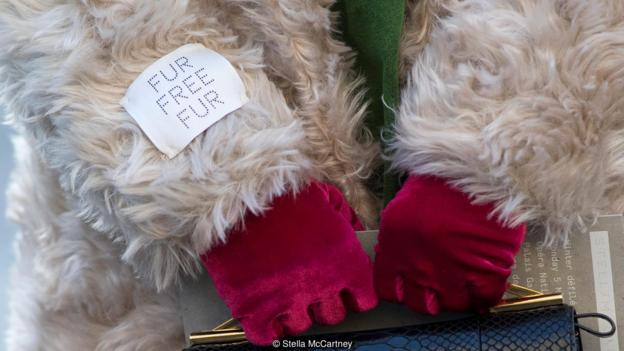 Stella McCartney plant-based faux fur
