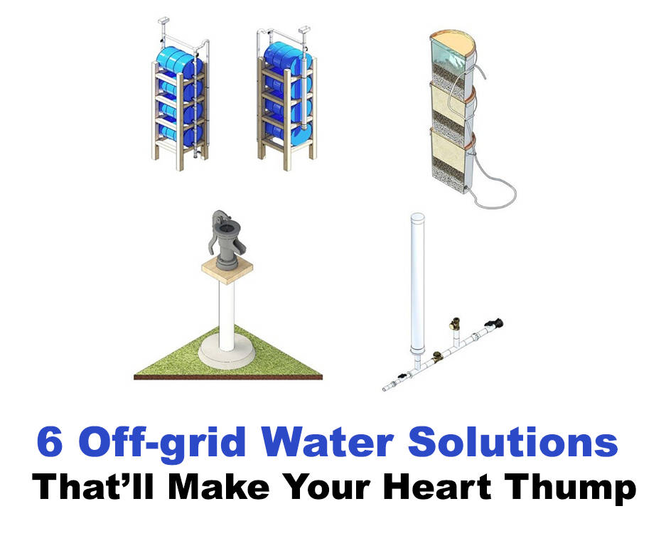 off-grid water solutions